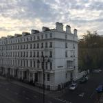 Great view from room 207 down Cromwell Road