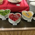 Breakfast Buffet - this includes salad ingredients.