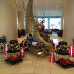 Lobby - decorated for celebration of St. Nick