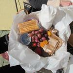 picnic basket for wine tour