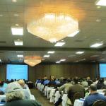 Part of general session at conference.