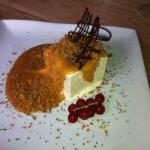 Banoffee Parfait with Salted Caramel & Biscuit Crumb