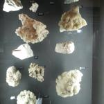 One of the mineral displays