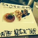 Breakfast surprise on our last day! So sad to leave!