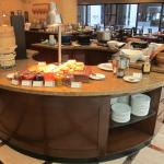 Olive Tree hot food selection (breakfast buffet)