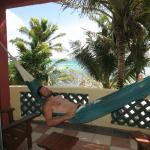 Querencia suite - relaxing in the hammock