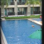 pool view from our room (level 2)