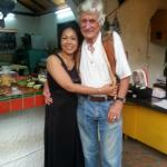 The owners...lovely people! Pai and Peter