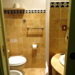 Bathroom Hotel Prati  Rome.