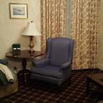 sitting room of the suite