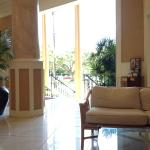 The hotel is just fine-- lobby, pool are well maintained.