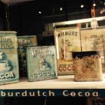 vintage cocoa tins