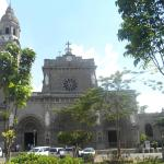 Manila Cathedral viewed from Plaza de Roma