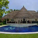 three bedroom pool villa - roof