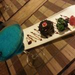 Dessert and Cocktail