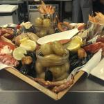 Another famous Braye seafood platter