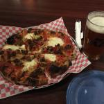 Wood fired pizza and beer