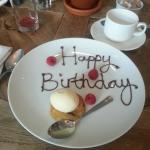 The chef went above and beyond to make my birthday special!
