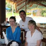 Our final breakfast in the restaurant