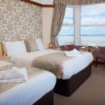 Sweeping sea view rooms