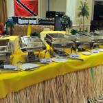 Buffet for a Festival at The Queens Hotel