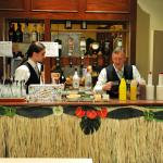Bar preparation for the guests
