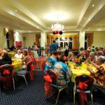 Colourful ladies Festival at The Queens Hotel