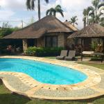 One of the villas in our 2 bedroom family villa