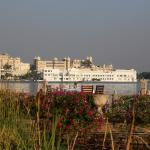 View from hotel of Udaipur City Palace