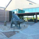 Entrance to the New Mexico Museum of Natural History