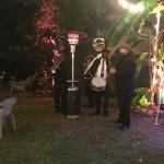 Our secondline band was a hit!  Barbara knows all the ins and outs!