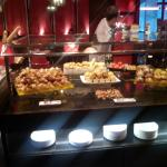 Breakfast buffet-sweets