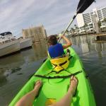 Fun on the kayaks!