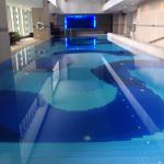 Temperature-controlled with underwater music pool