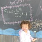 chalkboard at the pier
