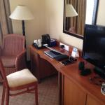 Workspace in the room
