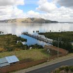 Lake Titicaca and Cell Tower