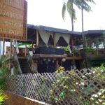 View of this very Zanzibari restaurant right outside the door of Jambo Guest House