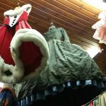Local vintage clothing store