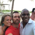 Stephan (General Manager), Salima (Wedding/event planner) and hubby
