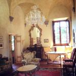 Front room of the villa