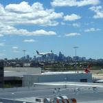 can see sydney tower with nice view