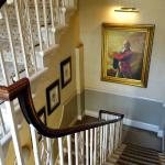 Another set of stairs. Love the portraits!