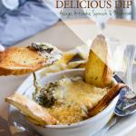 You haven't had artichoke dip until you've had ours.