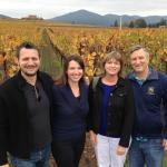 All smiles at Judd's Hill winery
