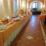 The breakfast buffet was fabulous to say the least.  All you can drink cappucino's!