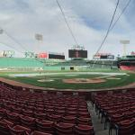 Panoramic View From Behind Home Plate
