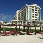 Hotel from the beach