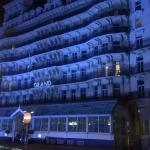 The Grand Hotel At Night