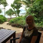 IN FRONT OF RESTRAUNT OVERLOOKING DUNK ISLAND